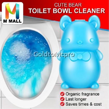 Foaming Aromatic Bleach Toilet Bowl Tank Cleaner Blue Flush Deodorant Bathroom
