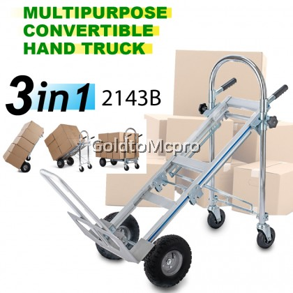 2143B 3 IN 1 M/PURPOSE CONVERTIBLE HAND TRUCK