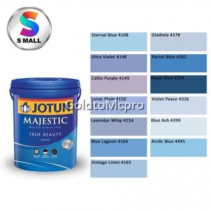 ** (4108-4445) 5L Jotun Interior Majestic True Beauty Sheen Shades of Blue & Purple