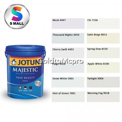 (4447-9918) 15L Jotun Interior Majestic True Beauty Sheen Shades of White