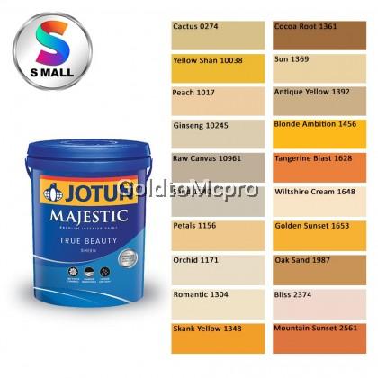 (0274-2561) 15L Jotun Interior Majestic True Beauty Sheen Shades of Yellow & Orange