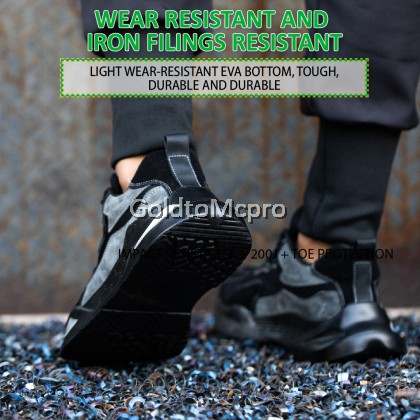 310 MCPRO SAFETY SHOES High Quality Lightweight Comfortable Non Slip Breathable Mesh Upper Work Shoes for Men Women Steel Toe Safety Shoes