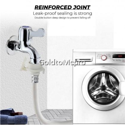 Bathroom Faucet Washing Machine WALL BIB WATER TAP (M66)